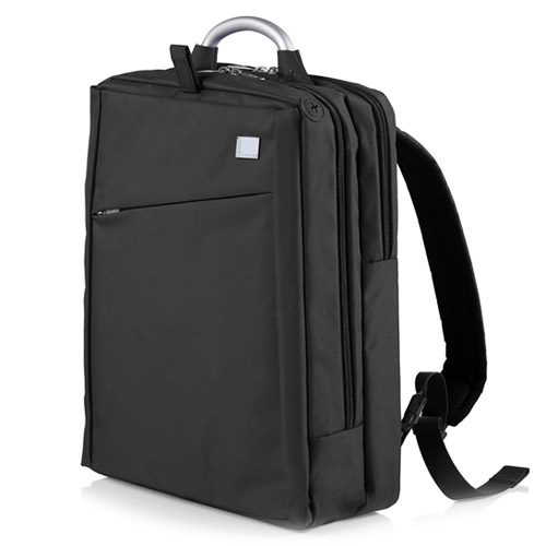 [LEXON] AIRLINE DOUBLE backpack Black - LN314N4
