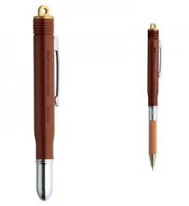 [MIDORI] BRASS PRODUCTS  Ballpoint Pen - Brown